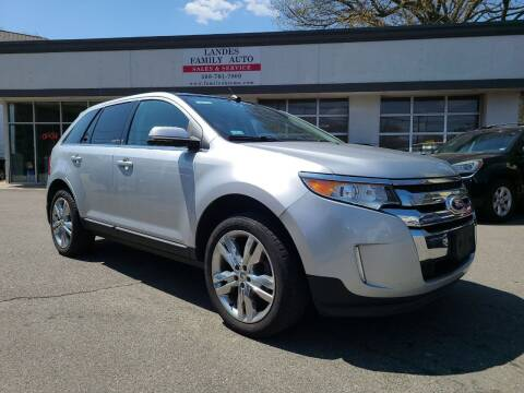 2012 Ford Edge for sale at Landes Family Auto Sales in Attleboro MA