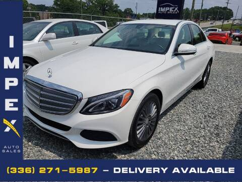 2015 Mercedes-Benz C-Class for sale at Impex Auto Sales in Greensboro NC