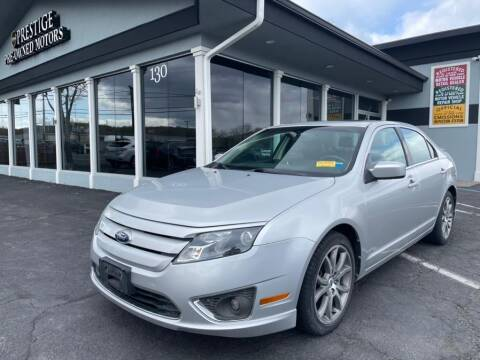 2012 Ford Fusion for sale at Prestige Pre - Owned Motors in New Windsor NY