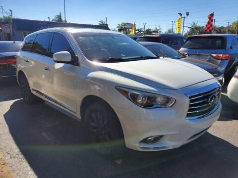 2013 Infiniti JX35 for sale at America Auto Wholesale Inc in Miami FL