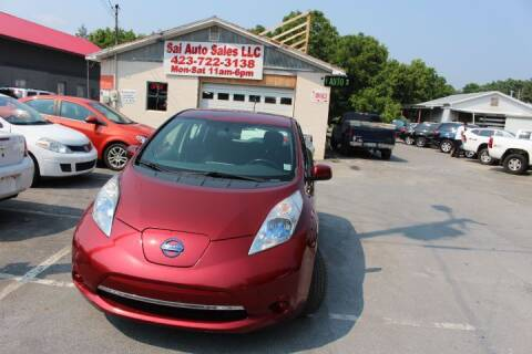 2013 Nissan LEAF for sale at SAI Auto Sales - Used Cars in Johnson City TN