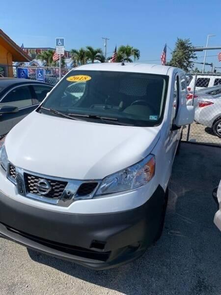 2018 Nissan NV200 for sale at VC Auto Sales in Miami FL