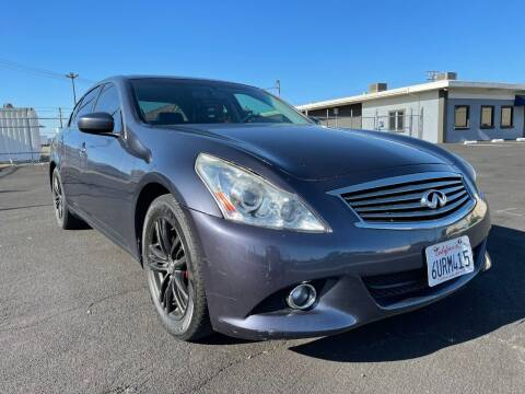 2012 Infiniti G37 Sedan for sale at Approved Autos in Sacramento CA