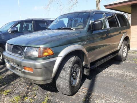 1997 Mitsubishi Montero Sport for sale at John 3:16 Motors in San Antonio TX