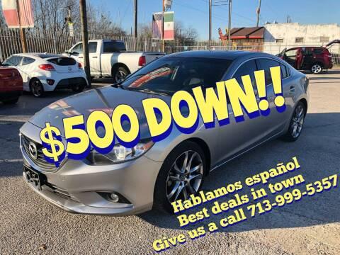 2014 Mazda MAZDA6 for sale at Saipan Auto Sales in Houston TX