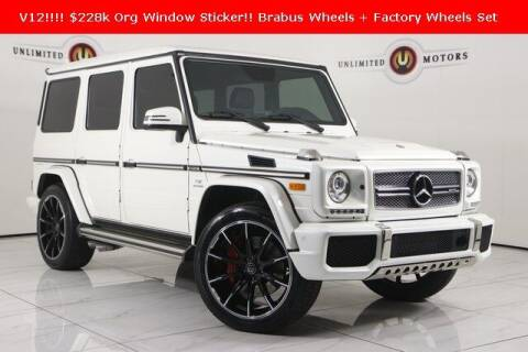 2017 Mercedes-Benz G-Class for sale at INDY'S UNLIMITED MOTORS - UNLIMITED MOTORS in Westfield IN