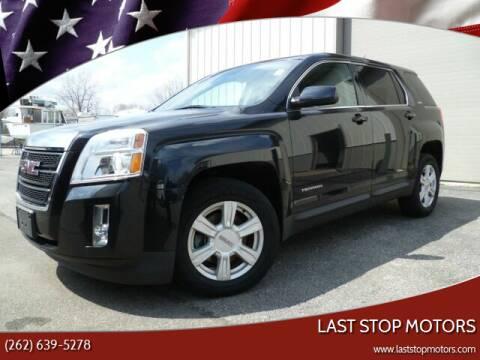 2013 GMC Terrain for sale at Last Stop Motors in Racine WI