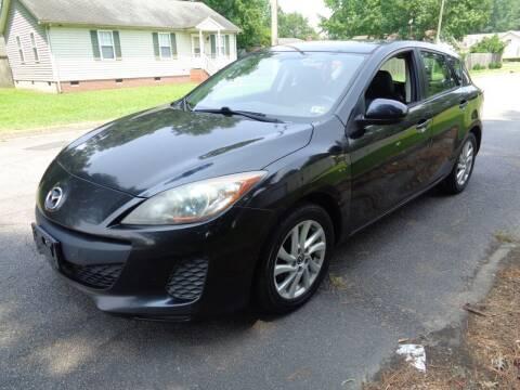 2013 Mazda MAZDA3 for sale at Liberty Motors in Chesapeake VA