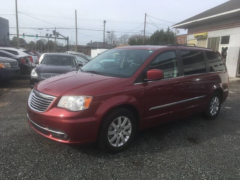 2014 Chrysler Town and Country for sale at Specialty Bank Liquidators in Greensboro NC