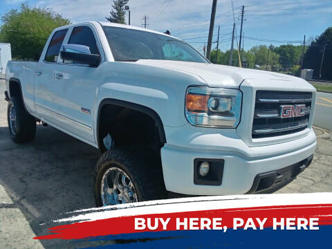 2014 GMC Sierra 1500 for sale at HWY 49 MOTORCYCLE AND AUTO CENTER in Liberty NC