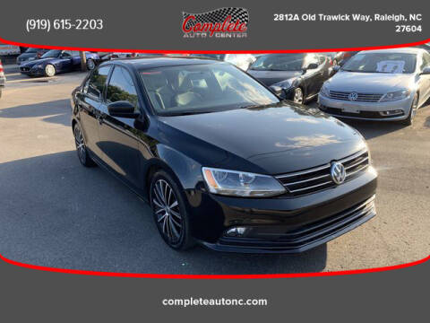 2015 Volkswagen Jetta for sale at Complete Auto Center , Inc in Raleigh NC