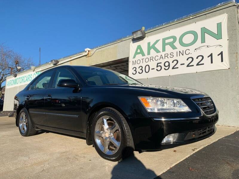 2009 Hyundai Sonata for sale at Akron Motorcars Inc. in Akron OH
