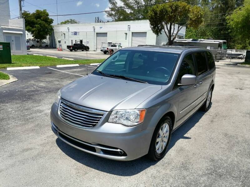 2014 Chrysler Town and Country for sale at Best Price Car Dealer in Hallandale Beach FL