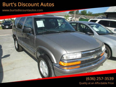 1999 Chevrolet Blazer for sale at Burt's Discount Autos in Pacific MO