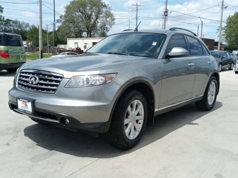 2006 Infiniti FX35 for sale at EURO MOTORS AUTO DEALER INC in Champaign IL