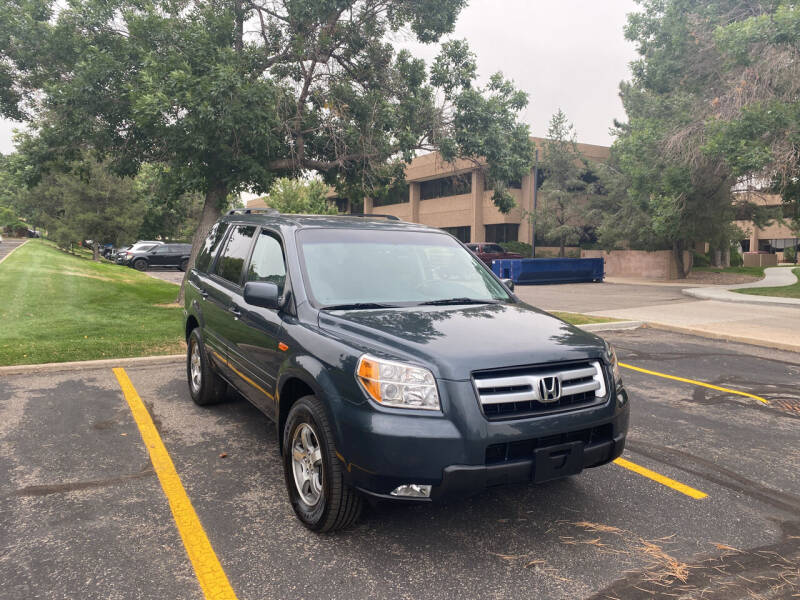 2006 Honda Pilot for sale at QUEST MOTORS in Englewood CO