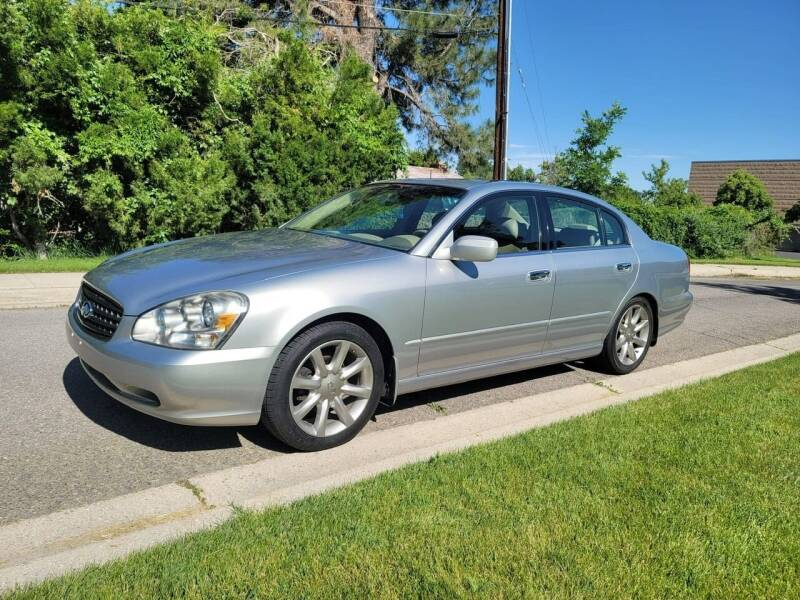 2002 Infiniti Q45 for sale at A.I. Monroe Auto Sales in Bountiful UT