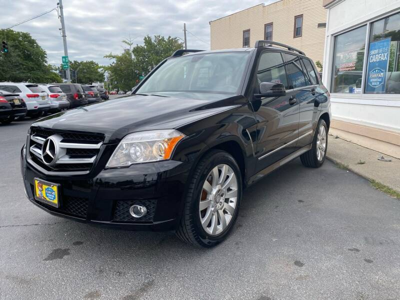 2012 Mercedes-Benz GLK for sale at ADAM AUTO AGENCY in Rensselaer NY