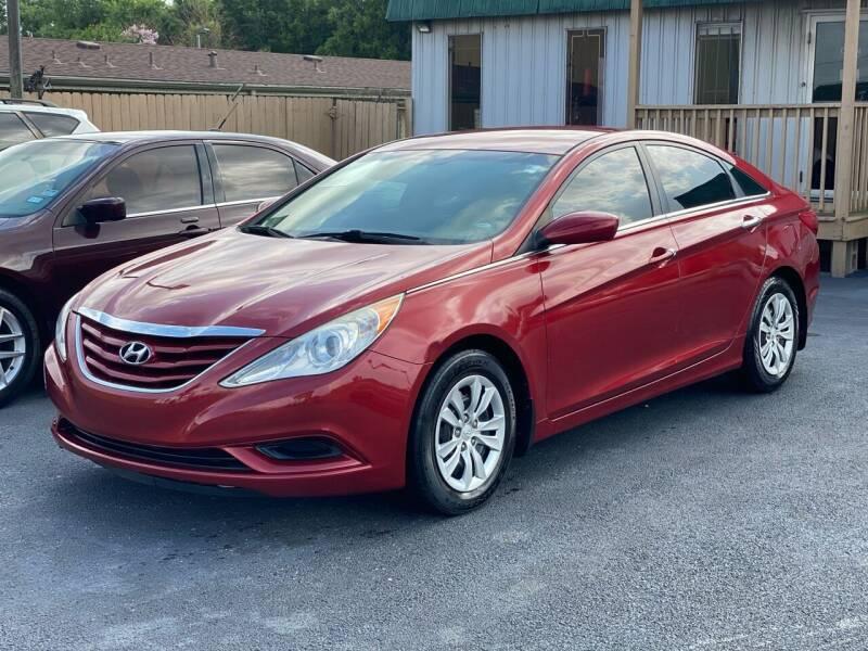2012 Hyundai Sonata for sale at ASTRO MOTORS in Houston TX