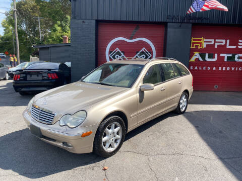 2003 Mercedes-Benz C-Class for sale at Apple Auto Sales Inc in Camillus NY