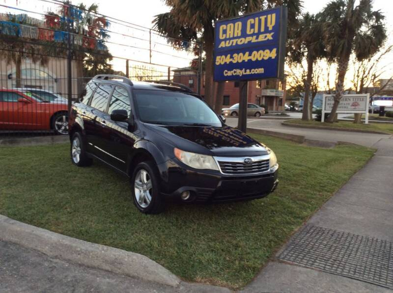 2010 Subaru Forester for sale at Car City Autoplex in Metairie LA