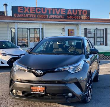 2018 Toyota C-HR for sale at Executive Auto in Winchester VA