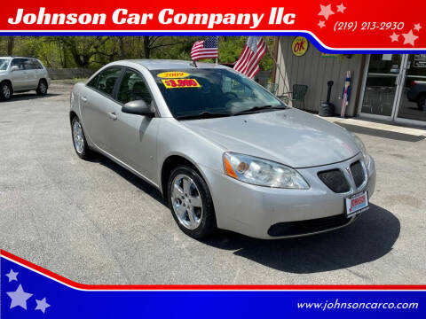2008 Pontiac G6 for sale at Johnson Car Company llc in Crown Point IN