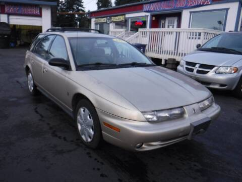1997 Saturn S-Series for sale at 777 Auto Sales and Service in Tacoma WA