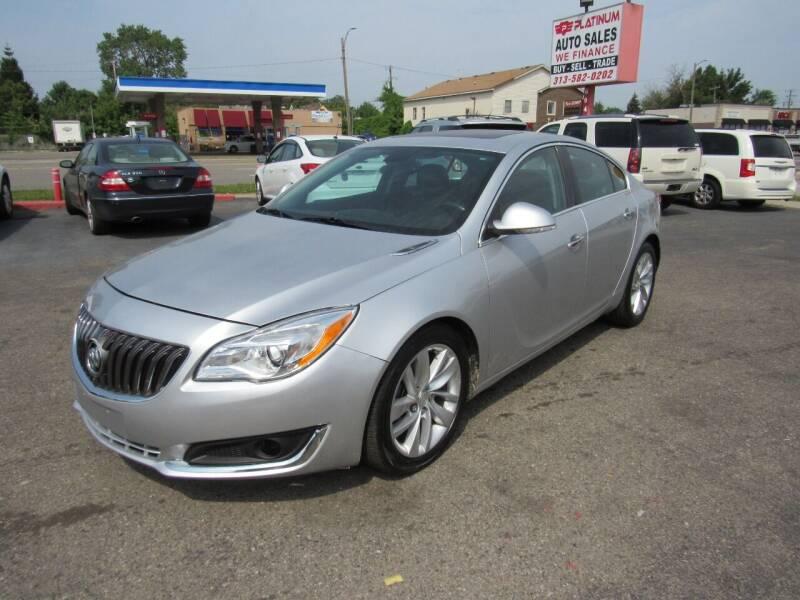 2014 Buick Regal for sale at PLATINUM AUTO SALES in Dearborn MI