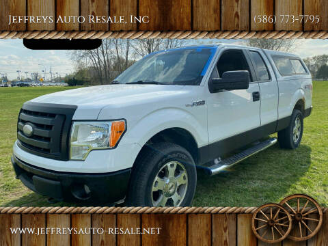 2009 Ford F-150 for sale at Jeffreys Auto Resale, Inc in Clinton Township MI