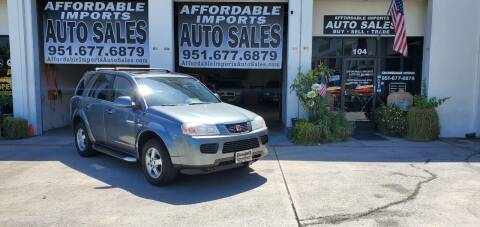 2007 Saturn Vue for sale at Affordable Imports Auto Sales in Murrieta CA
