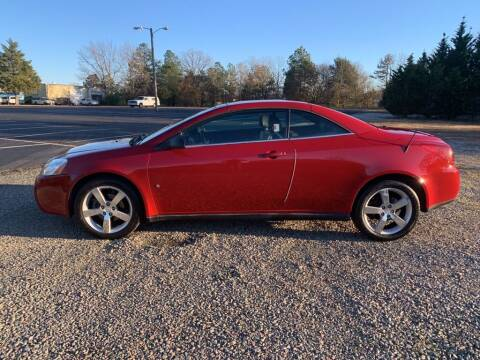 2007 Pontiac G6 for sale at MEEK MOTORS in North Chesterfield VA