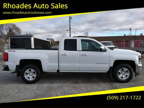 2017 Chevrolet Silverado 1500 for sale at Rhoades Auto Sales in Spokane Valley WA