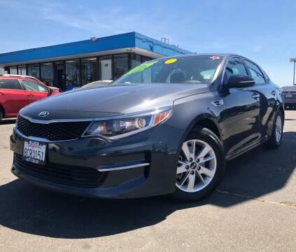2018 Kia Optima for sale at LUGO AUTO GROUP in Sacramento CA