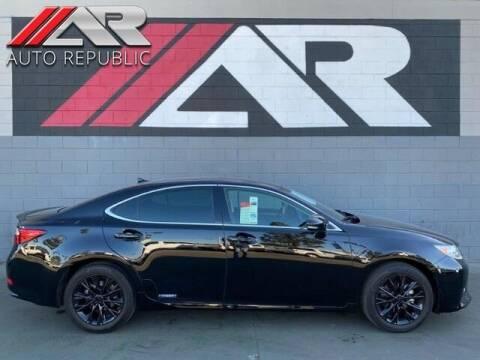 2013 Lexus ES 300h for sale at Auto Republic Fullerton in Fullerton CA
