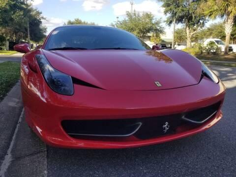 2013 Ferrari 458 Italia for sale at Monaco Motor Group in Orlando FL