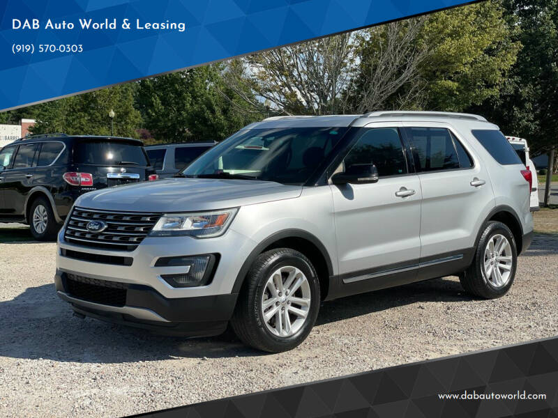 2016 Ford Explorer for sale at DAB Auto World & Leasing in Wake Forest NC