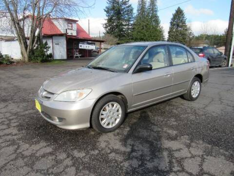 2004 Honda Civic for sale at Triple C Auto Brokers in Washougal WA