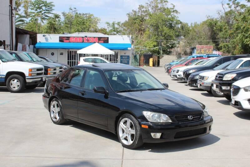 2003 Lexus IS 300 for sale at Car 1234 inc in El Cajon CA