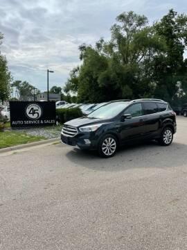 2017 Ford Escape for sale at Station 45 Auto Sales Inc in Allendale MI