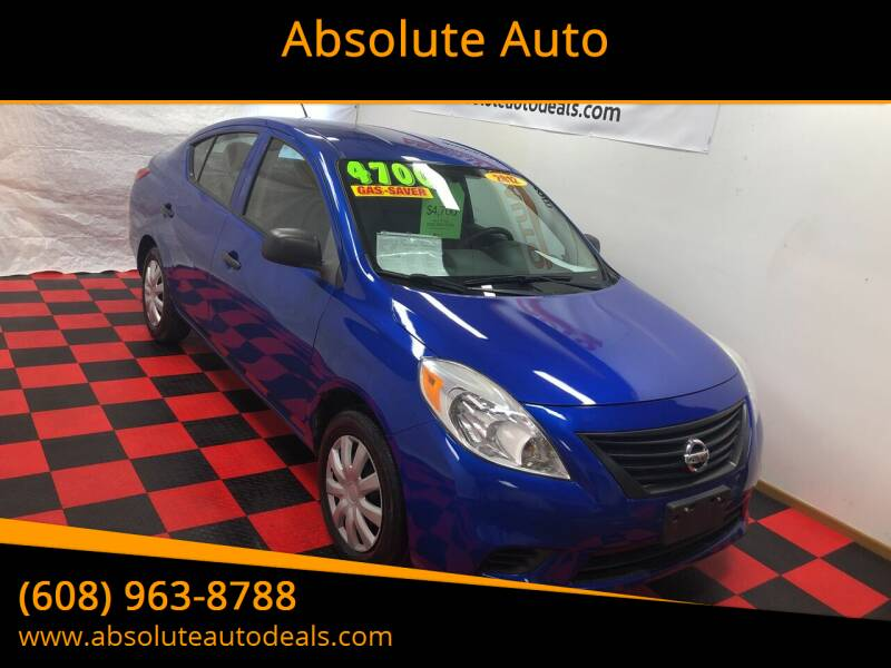 2012 Nissan Versa for sale at Absolute Auto in Baraboo WI