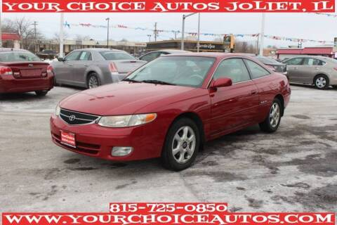 2001 Toyota Camry Solara for sale at Your Choice Autos - Joliet in Joliet IL