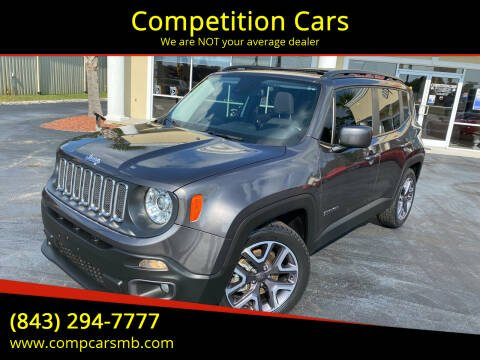 2017 Jeep Renegade for sale at Competition Cars in Myrtle Beach SC
