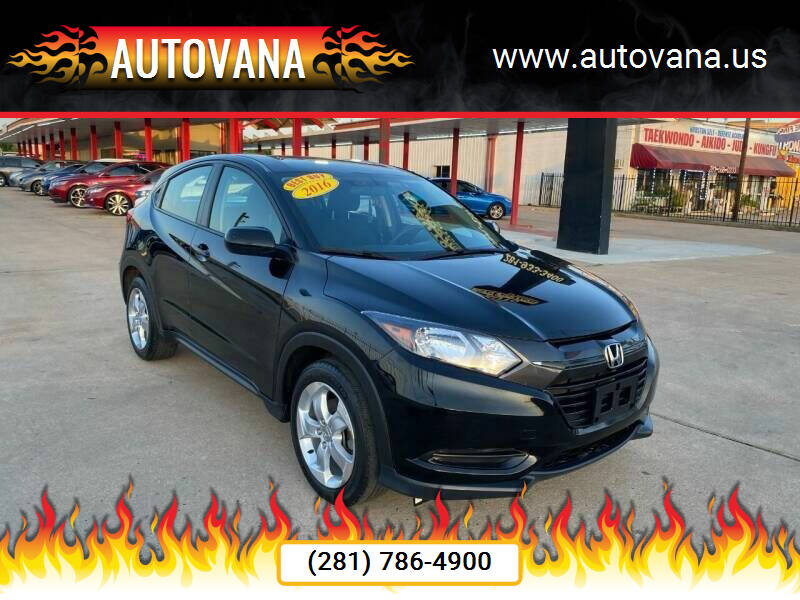 2016 Honda HR-V for sale in Humble, TX