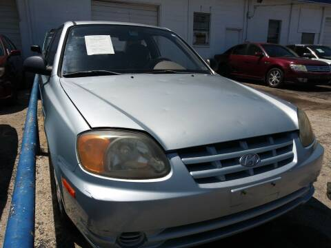 2003 Hyundai Accent for sale at Dave-O Motor Co. in Haltom City TX