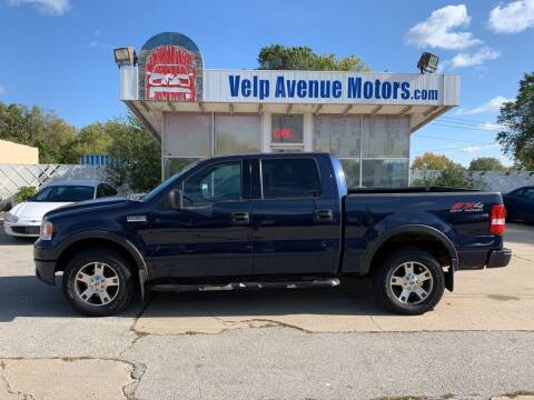 2004 Ford F-150 for sale at Velp Avenue Motors LLC in Green Bay WI