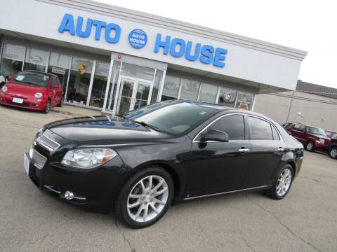 2009 Chevrolet Malibu for sale at Auto House Motors in Downers Grove IL