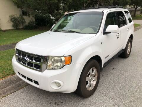 2008 Ford Escape for sale at Low Price Auto Sales LLC in Palm Harbor FL