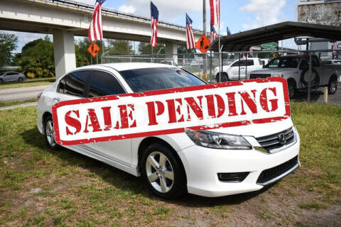 2013 Honda Accord for sale at ELITE MOTOR CARS OF MIAMI in Miami FL