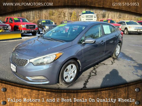 2016 Kia Forte for sale at Valpo Motors Inc. in Valparaiso IN